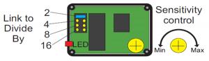 Divider amp controls